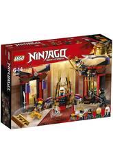 Lego Ninjago Duel dans la Salle du Trône 70651