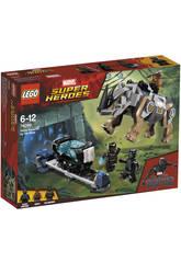 Lego Super Héroes Duelo Contra Rhino Junto a la Mina 76099