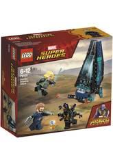 Lego Super Heroes L'attacco della Dropship degli Outrider 76101