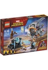 Lego Super Héros Aventure après l'arme de Thor 76102