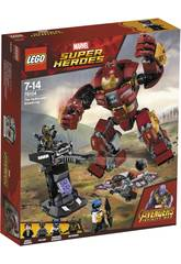 Lego Super Héroes Incursion Demoledora del Hulkbuster Smash-Up 76104