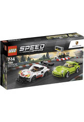Lego Speed Champions Porsche 911 RS y 911 Turbo 75888