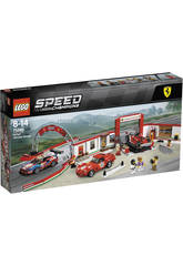 Lego Speed Champions Taller Definitif de Ferrari 75889
