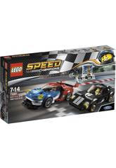 Lego Speed Champions Ford GT 2016 y Ford GT40 1966 75881