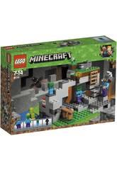 Lego Minecraft A caverna dos zombies 21141