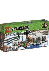 Lego Minecraft l'Igloo Polaire 21142