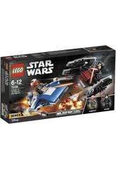 Lego Star Wars Microfighter Ala A vs. Schalldämpfer Tie 75196