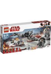 Lego Star Wars Defensa de Crait 75202