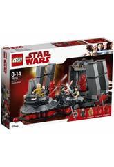 Lego Star Wars Salle du trône de Snoke 75216