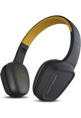Fones de ouvido 3 Bluetooth cor amarela energia sistema 429325