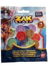 Moedas de 4 unidades Zak Storm Bandai 41500