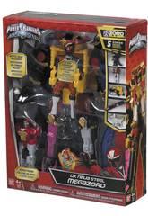 Power Rangers Megazord Ninja Steel Bandai 43595