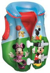 Gilet gonflable de Mickey Mouse Clubhouse 51x46 cm. Bestway 91030
