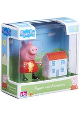 Peppa Pig Figure con Accessori Bandai 06381