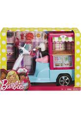 Barbie Scooter Street Food con Accessori Realistici Mattel FHR08