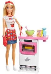 Barbie Playset Pasticceria Mattel FHP57