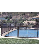 Barreira de proteção de piscina 366x125 Gre 779700