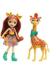 Enchantimals Puppe Gillian Giraffe und Pawl MattFKY74