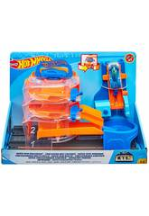 Hot Wheels City Super Pneu Tournant Mattel FNB15