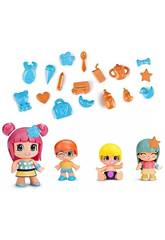 Pinypon Baby e Figure Famosa Pack 4 700014101