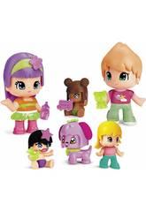 Pinypon Bébés et Figures Fameux Pack 6 700014086