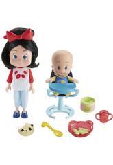 Cleo y Cuquín ¡Vamos a Comer! Mattel FLW48
