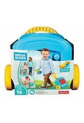 Mega Bloks Trolley Costruisci e Vai Mattel FLT37