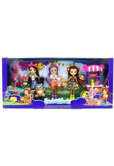 Enchantimals Pack 3 Muñecas Con Accesorio Mattel FVJ80
