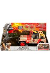 Jurassic World Véhicule de Sauvetage Dinosaure Mattel FNP46