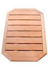Caillebotis Holz für Solardusche Poolstar DS-CAILLEBOTIS