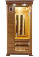 Sauna Infrarrojos Luxe - 1 Plaza Poolstar SN-LUXE-1