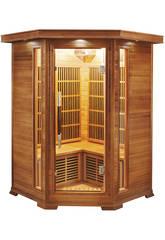 Infrarot-Sauna Luxe - 2/3 Plätze Poolstar SN-LUXE-2C