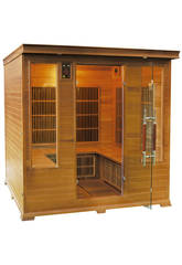 Sauna Infrarouges Luxe - 4/5 Places