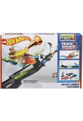 Hot Wheels Track Desafio Rocket Launcher 3 Em 1 Mattel FLK60