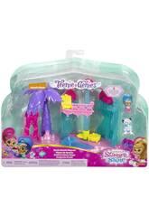 Shimmer & Shine Escenario Teenie Genies Mattel DTK56