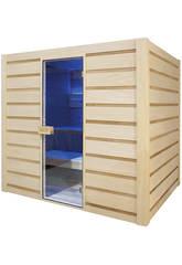 Sauna Dampf Eccolo Poolstar HL-EC04-K