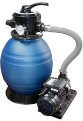 Depuradora Monobloc 500 Filtro Arena con Bomba de 0,8 hp QP 565094