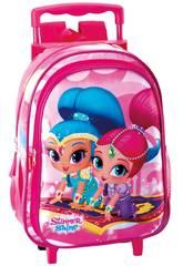 Shimmer and Shine Mochila con Carro Infantil Perona 55249