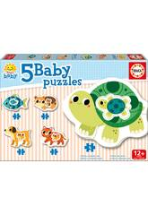 Baby Puzzle Animali Educa 17573