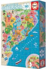 Puzzle 150 Comarques De Catalunya Educa 17269
