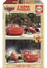 Puzzle 2x50 Cars Educa 16372
