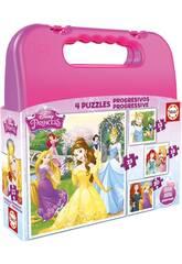 PuzzlePrincesses Progressive Disney 12-16-20-25 Educa 16508