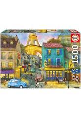 Puzzle 1500 Calles De París Educa 17122