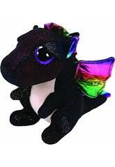 Peluche Anora Dragon noir 15 cm Ty 36897