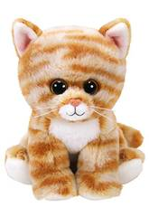 Peluche Cleo Gold Tabby Cat 15 cm. Ty 42305
