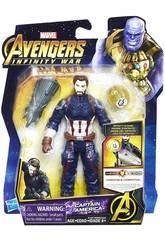 Avengers Infinity War Figura 15 cm. con Accesorio Hasbro E0605