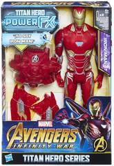 Avengers Figur Iron Man 30 cm. und Rucksack Power FX Hasbro E0606