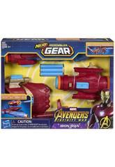 Vingadores Iron Man Assembler Gear por Nerf Hasbro E0562