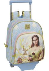 The Beauty and the Beast Rucksack Infantil mit Trolley Safta 611708020