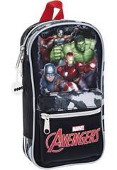 Avengers Plumier Mochila con Portatodos y Accesorios Safta 411734747